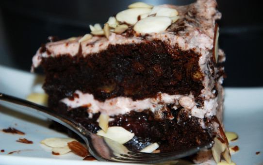 Black Forest Cake Slice DDK