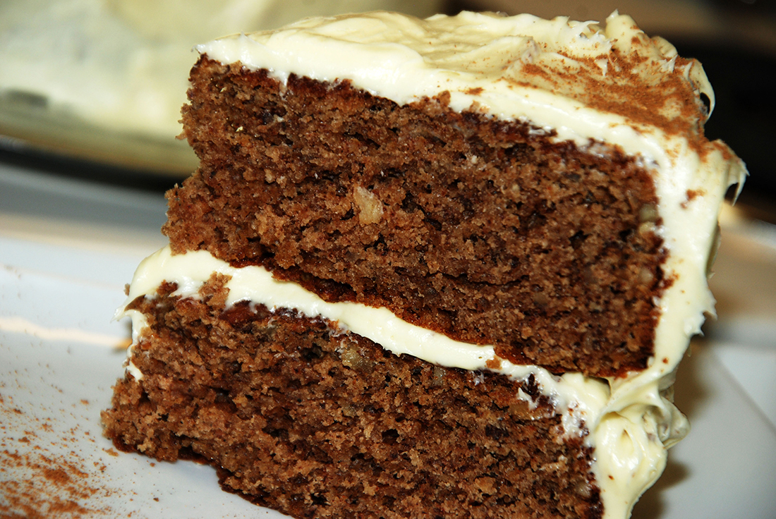 Spiced Up Butterscotch cake butter cream frosting cream cheese icing gluten free