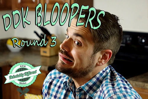 DDK Baking Bloopers Round 3 YouTube Video
