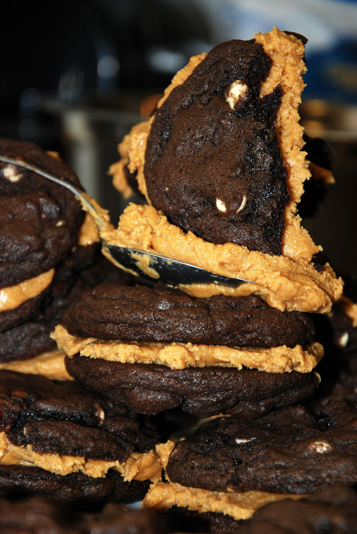Triple Chocolate Peanut Butter Cookies how to bake gluten-free