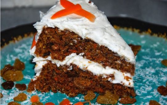 vegan gluten-free tropical carrot cake