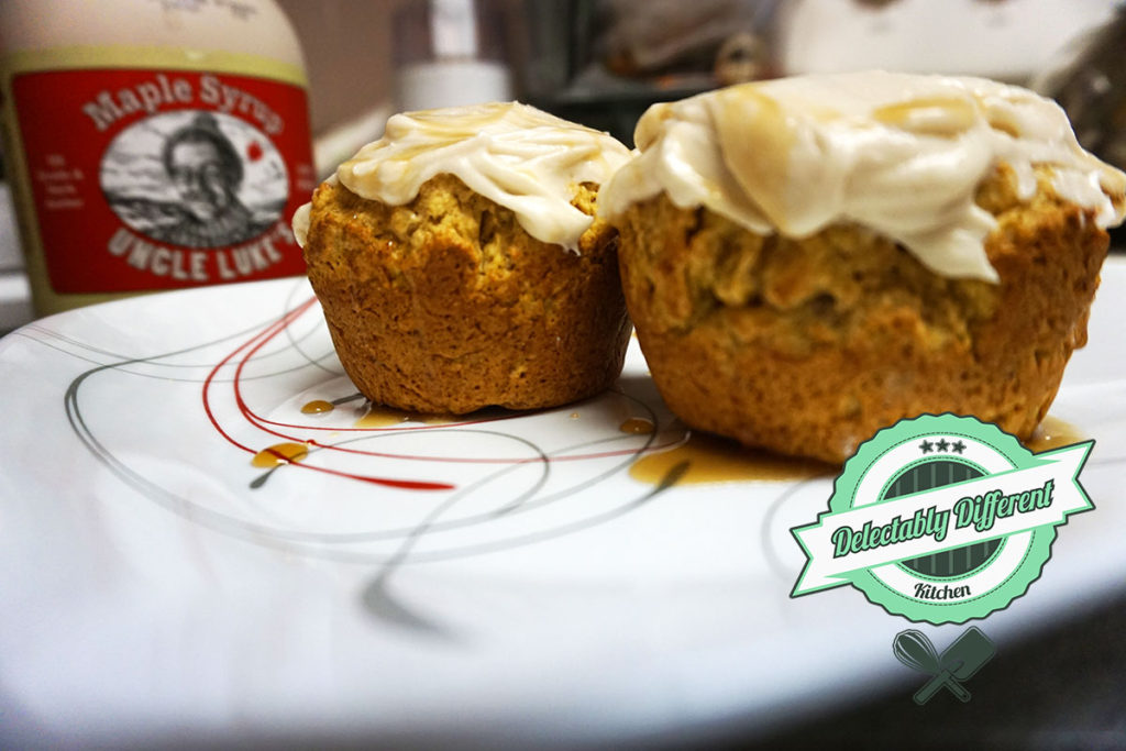 Vegan Maple Banana Bread Cupcakes how to bake gluten-free