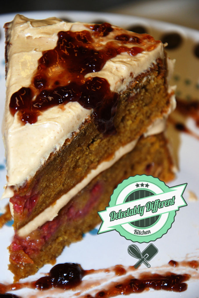 peanut butter and jelly cake gluten free vegan baking recipes from delectably different kitchen