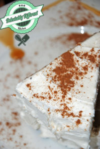 Califia Holiday nog Cake