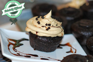 Chocolate Peanut Butter Cream Cupcakes