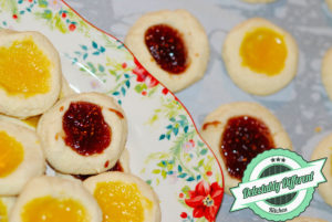 Jam Thumbprint Cookies gluten-free no sugar