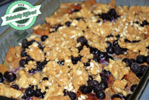 Blueberry Muffin Bread Pudding Gluten-Free